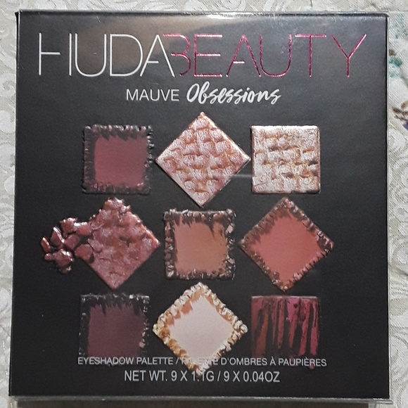 HUDA BEAUTY Other - Huda Beauty Mauve Obsessions Pallette